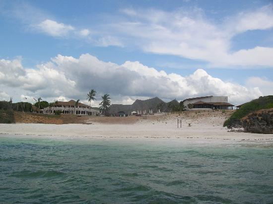complesso del Garoda resort visto dal mare