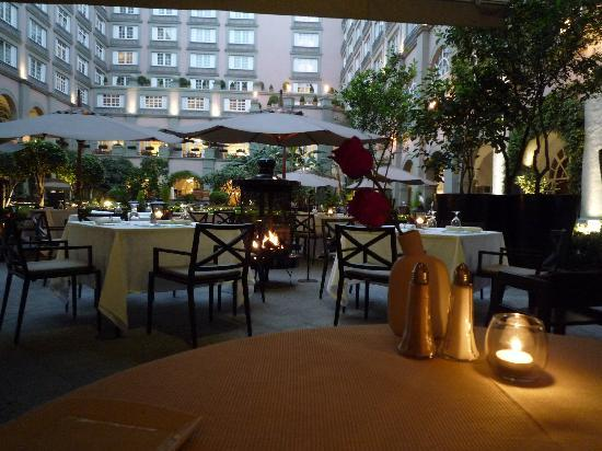 Four Seasons Mexico City: From the main restaurant