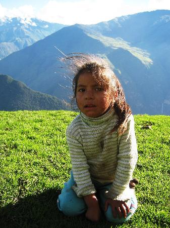 Heliga dal, Peru: Kati, her family let us camp at their place for free