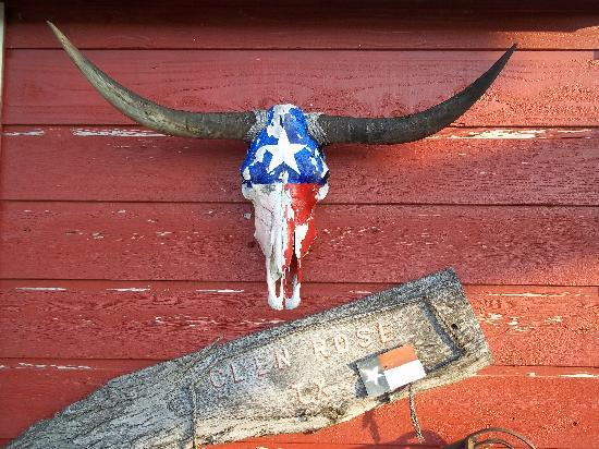 The Ranch House Bar B Que: cool local relics