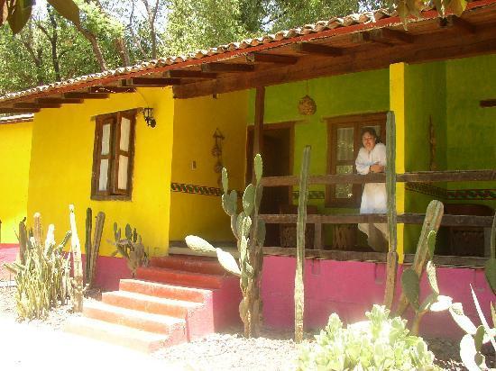 El Marqués Hacienda Hotel: Guanajuato Mexico. Hacienda del Marques. Cabaña