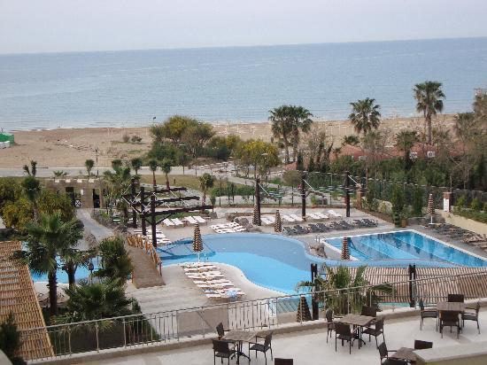 Adalya Resort & Spa: seaview with outdoor pool