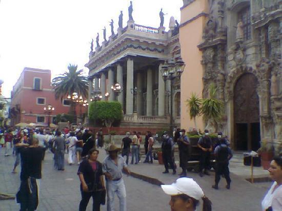 Juarez Theater (Teatro Juarez) : Guanajuato Mexico, Teatro Juarez