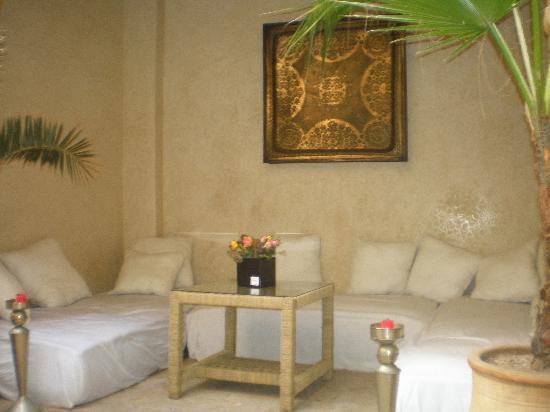 Riad Chbanate: vista patio1