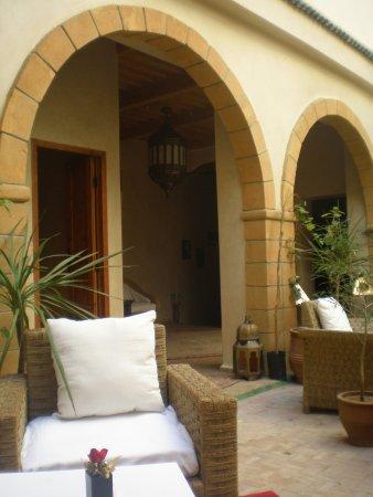 Riad Chbanate: vista patio2
