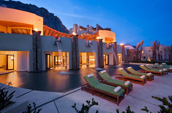 The Resort at Pedregal: Spa waterfall