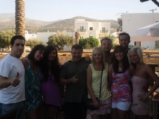 Danelis Apartments: Everyone on our last day :(