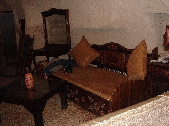 Gamirasu Cave Hotel: The sitting area