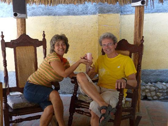 Casa de Miriam : rafraichissement à la goyave