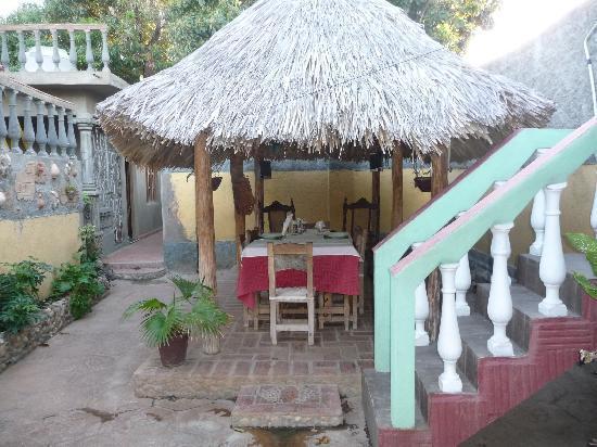 Casa de Miriam: le patio