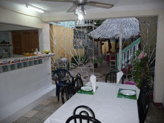 Casa de Miriam: la cuisine / salle à manger
