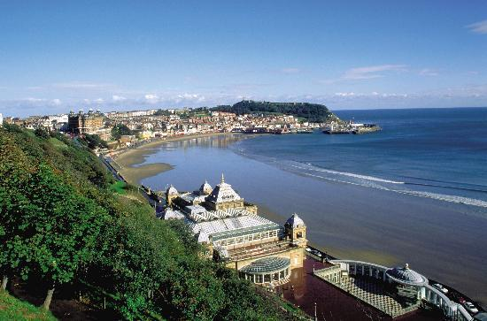 View of South Bay from the Mansion House Scarborough