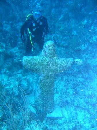 Las Terrazas Resort: CHRIST OF THEABYSS