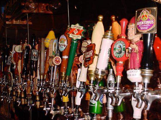 80 beers on draught at The Ginger Man Dallas