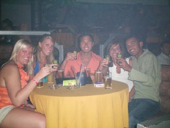Acapulco, Mexico: Drinking at Palladium