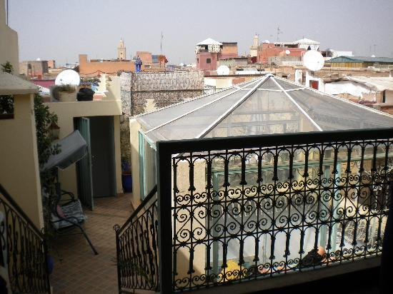 Riad Dar Tah Tah : View from room 4 terrace