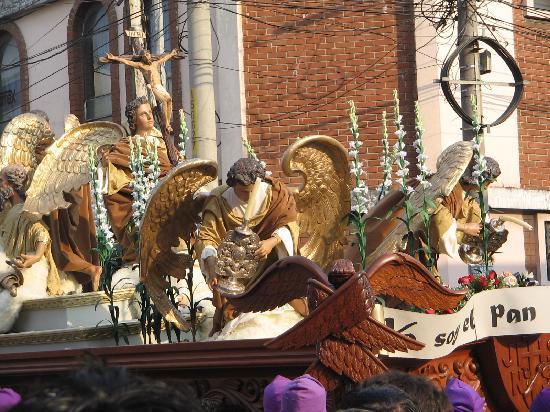 Guatemala (ville), Guatemala : andas de Jesús del Consuelo
