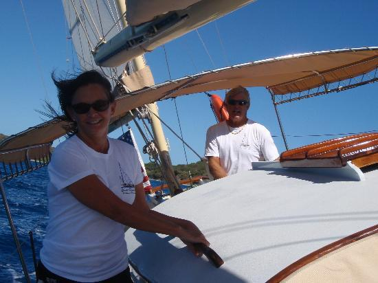 Yacht Nightwind: Captain Rick & First Mate Cathy