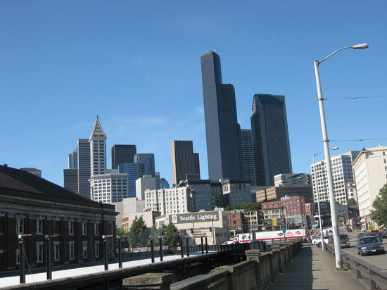 Seattle, Waszyngton: downtown 2008