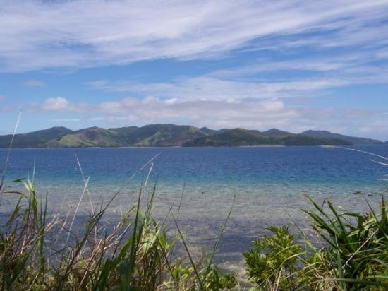 Kadavu Adası, Fiji: The amazing view from the path to Tiliva