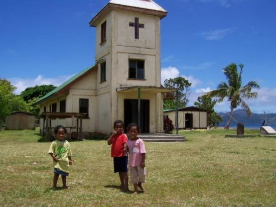 The church at Tiliva Village, Kadavu, Fiji