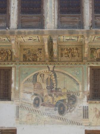 "Nawalgarh, Indien: With a ""Western motif"""