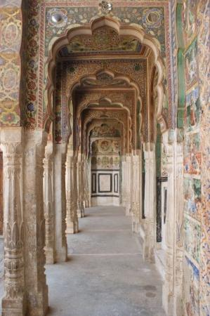 Nawalgarh, Indien: Beautiful decorated!