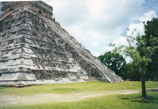 Kulkulcan-pyramiden: Chichen Itza, Mexico