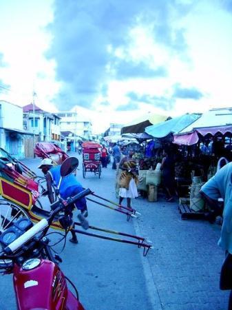 Markt in Tamatave, Madagaskar