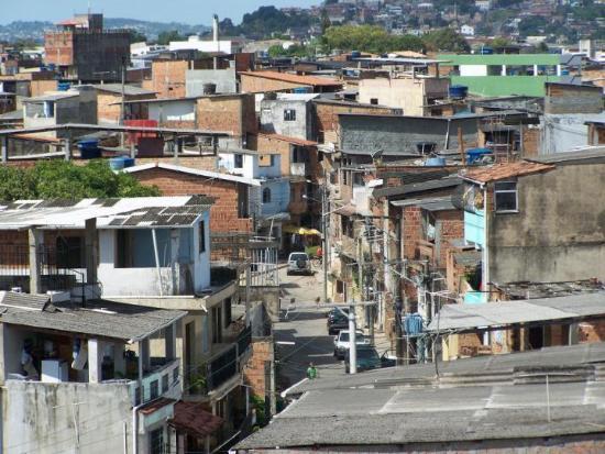 Salvador, BA: Meine Straße in Mangueira