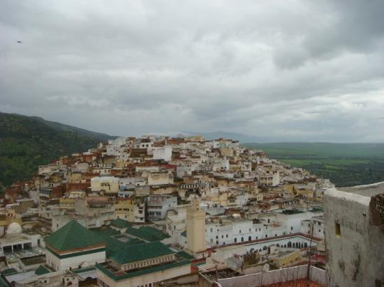 Views over the Moulay Idriss city