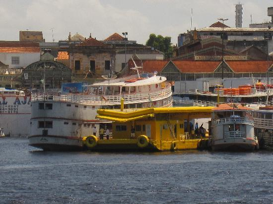Manaus City from river