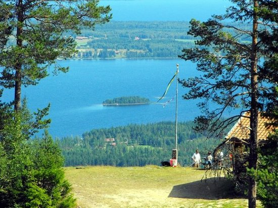 Мора, Швеция: A cabin with a view, Gesunda, Lake Siljan, Sweden