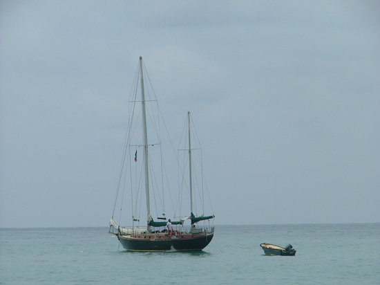 Puerto Vallarta, México: Our sailboat for the day!