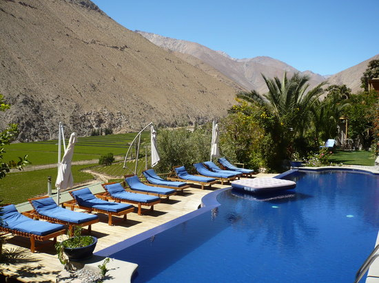 Pisco Elqui, Chile: PISCINA