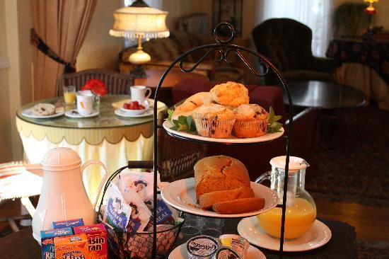 Continental breakfast included in rate