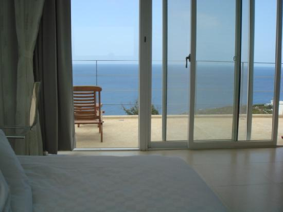 Ocean Paradise Resort: View from the bed