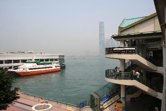 Star Ferry: 中環側フェリーターミナルです