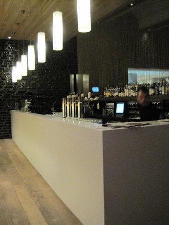 Brasserie Harkema : Bar area kind of dead but cool enough