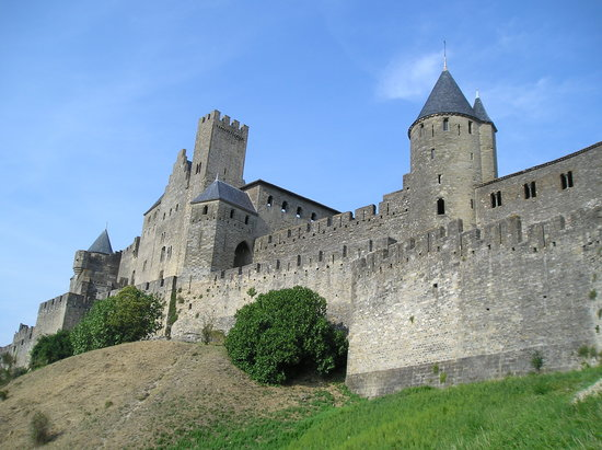 Carcassonne, Frankrijk: mura