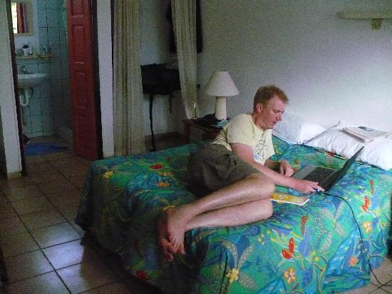 Hotel Santo: the room