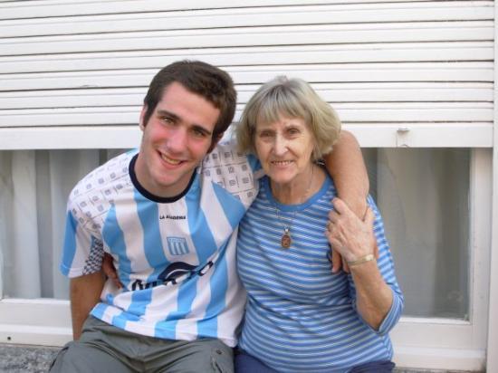 Balcarce, Argentina: con mi abu