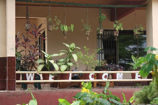 Four Villages Inn: The verandah