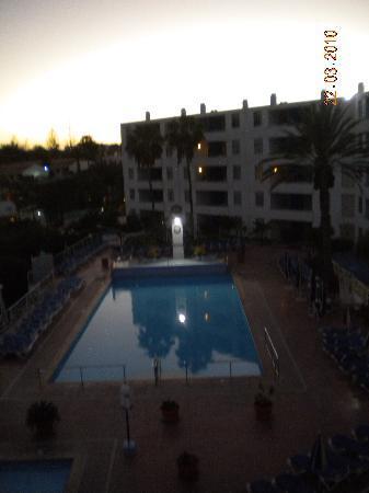Tamaragua Apartments: Aussicht von der Wohnung