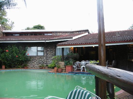 The Sabie Townhouse Guest Lodge : The Pool