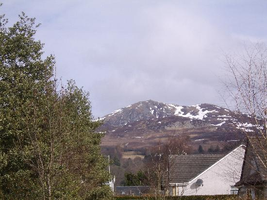 The Pitlochry Hydro Hotel: View taken from car park