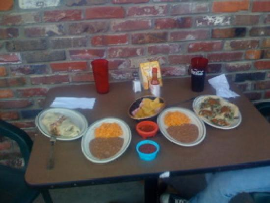 Burrito Vaquero: Carane Asada Burrito and Tacos Carne Asada