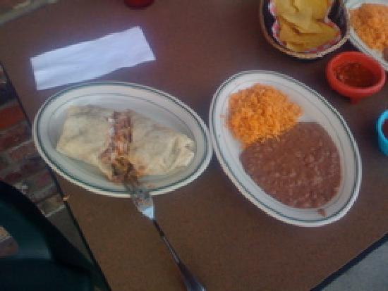 Burrito Vaquero: Carane Asada Burrito