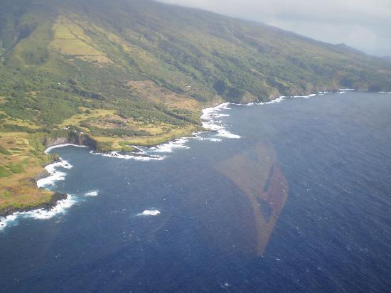Air Maui Helicopter Tours: vue de l ocean