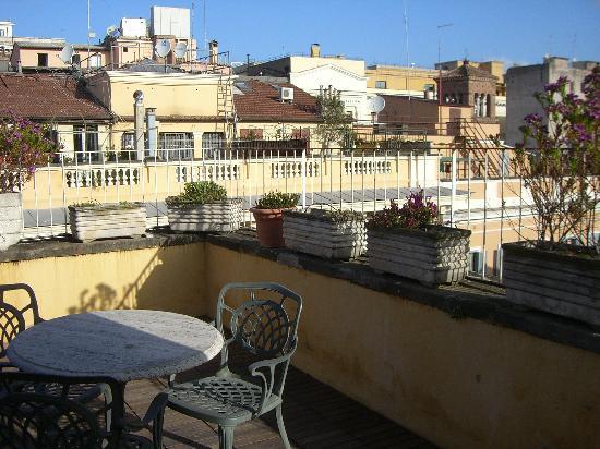 Hotel Raffaello: depuis la terrasse